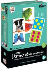 Dominoes Animaux Photo Diset 68968