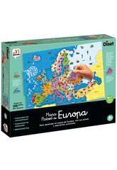 Puzzle Mapa Países de Europa Diset 68947