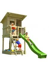 Terrain de jeu Beach Hut XL avec balançoire individuelle Masgames MA802311