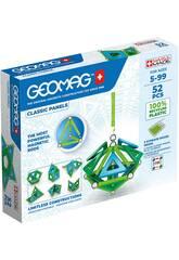Geomag Classique Vert Paneux 52 Pièces Toy Partner 471