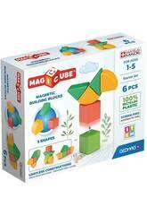 Set de démarrage Geomag Magicube vert 6 pièces Toy Partner 200