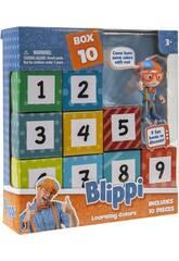 Blippi Lot de 9 Surprises Toy Partner BLP0009