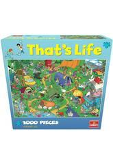 Puzzle 1.000 That's Life Camping Goliath 919261