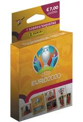 Euro 2020 Ecoblister 7 Sobres Panini 9788427871755
