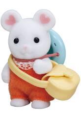 Sylvanian Families Bebè Topo Marshmallow Epoch Para Imaginar 5408