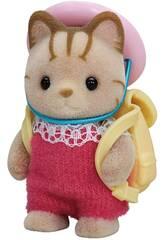 Sylvanian Families Baby Epoch Stripey Cat Baby Imagination Cat