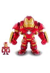 Avengers Figura Hulkbuster Metal con Iron Man Simba 253223002