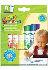 8 Rotuladores Mini Kids Crayola 8324