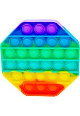 Pop It Ottagono Rainbow