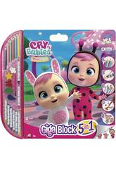 Manualidades Giga Block Bebés Llorones Cefa Toys 21813