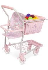DeCuevas Ocean Fantasy 12 Fruit Baby Carrier Shopping Trolley 52141