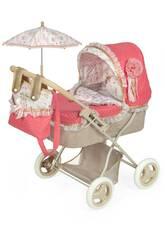Passeggino per bamobole pieghevole Martina con parasole DeCuevas 85033