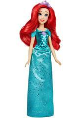 Muñeca Princesas Disney Brillo Real Ariel Hasbro F0895