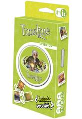 Timeline Blister Inventos Eco Asmodee TIMEECO01ES