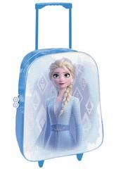 Trolley-Rucksack Frozen 2 in 1 mit Pailletten Toybags T810-120