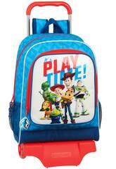 Mochila con Carro Toy Story It's Play Time Safta 612031313