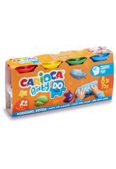 Pasta Modelar Baby Do 8x75 ml. Carioca 43180