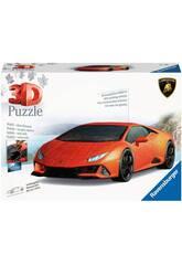 Puzzle 3D Lamborghini Huracán Evo Ravensburguer 11238