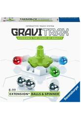 Gravitrax Extension Balls & Spinner Ravensburger 26979