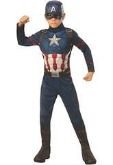 Disfraz Niño Capitán América Endgame Classic T-L Rubies 700647-L