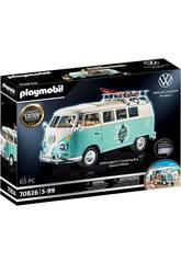 Playmobil Furgoneta Volkswagen T1 Camping Bus Edicion Especial 70826