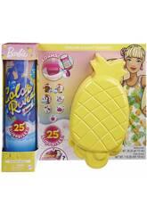 Poupée Barbie Révélation des couleurs avec ananas en mousse Mattel GTN17
