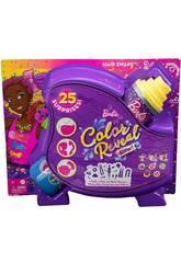 Poupée Barbie Colour Reveal Hairstyles Bows Mattel HBG40