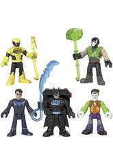 Imaginext Batman Pack 5 Figures Bat Tech Mattel GXD67
