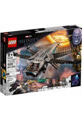 Lego Marvel Dragon Flyer de Black Panther 76186