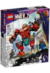 Lego Marvel Et si... ? Iron Man Sakaarian de Tony Stark 76194