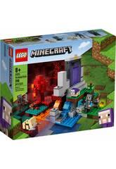 Lego Minecraft Le portail en ruine 21172