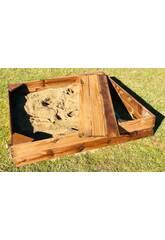 Caixa de Areia Kassi Rectangular de 120x150 cm. Masgames MA600082