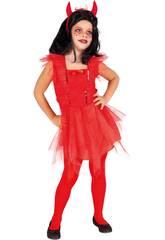 Déguisement Enfant Jolie Diablesse Taille S Rubies S8724-S