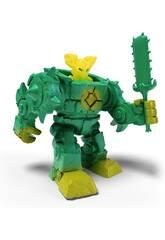 Eldrador Robot de la Selva con Mini Creatures Schleich 42548