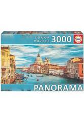 Casse-tête 3.000 Grand Canal de Venise Panorama Educa 19053