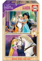 Casse-tête en bois 2x16 Disney Princesse Educa 18875