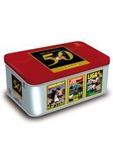 La Liga 21-22 Box Golden Series 50 Years Panini Exclusive Cards 8424248917951