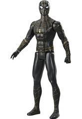 Figure Spider-Man Titan 29 cm. Costume noir et or Hasbro F2438