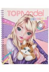 Top Model Libro Colorear Depesche 11450
