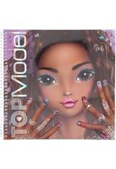Top Model Cuaderno para Colorear Create Your Hand-Design Depesche 11471
