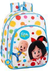 Mochila Infantil Adaptable a Carro Cleo y Cuquín Safta 612059185