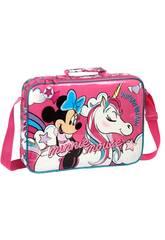 Cartera Extraescolares Minnie Mouse Unicorns Safta 612012385