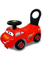 Cars Lightning McQueen avec son et lumière Ride-on Cars Kiddieland 50831