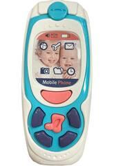 Teléfono Móvil Infantil Luces y Sonidos