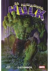 El Inmortal Hulk 1. O es Ambos Marvel Premiere Panini 9788413346854