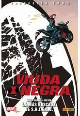 Viuda Negra La Más Buscada de S.H.I.E.L.D. 100% Marvel Panini
