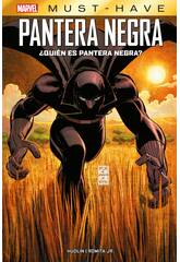 Pantera Negra ¿Quien es Pantera Negra? Marvel Must Have Panini