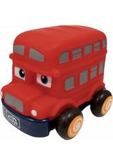Autobus Infantil Retrofricción Rojo