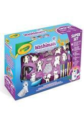 Washimals Super Set 10 Mascotas y 2 Disfraces Crayola 74-7461