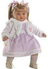 Muñeca Baby Dulzona Llorona 60 Cm